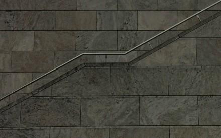 2_Treppe am Verwaltungsgebäude der Leipziger Messe