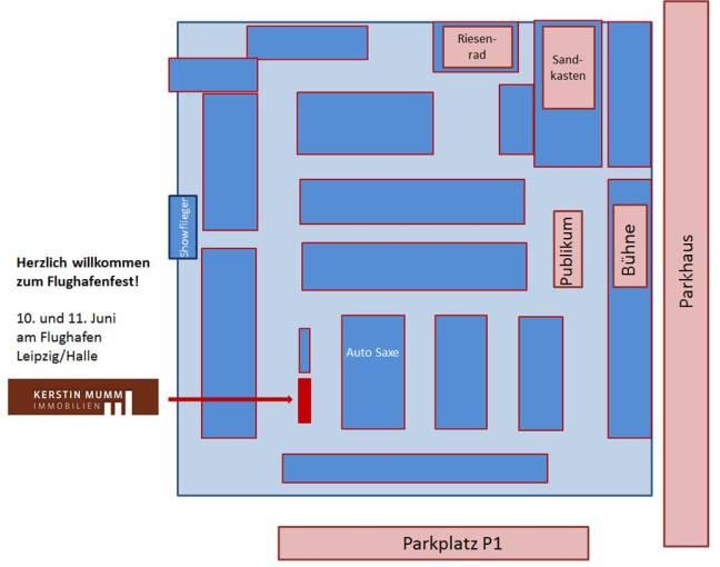 Standplatz Flughafenfest